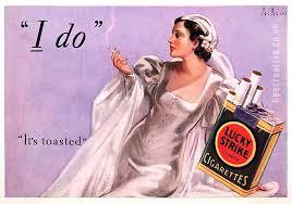Bride advert cig