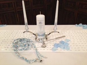 Unity Candle and Handfasting Cords