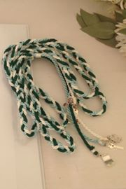 Handfasting Cords can be made to blend with the colour theme of your wedding.